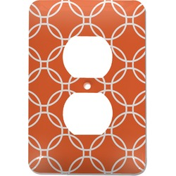 Linked Circles Electric Outlet Plate (Personalized)