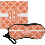 Linked Circles Eyeglass Case & Cloth (Personalized)