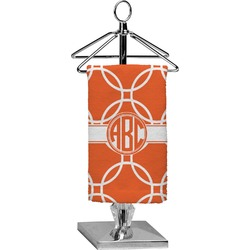 Linked Circles Finger Tip Towel - Full Print (Personalized)