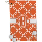 Linked Circles Golf Towel - Full Print (Personalized)