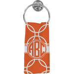 Linked Circles Hand Towel - Full Print (Personalized)