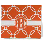 Linked Circles Kitchen Towel - Full Print (Personalized)