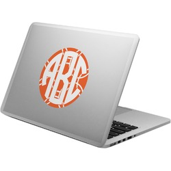 Linked Circles Laptop Decal (Personalized)