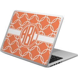 Linked Circles Laptop Skin - Custom Sized (Personalized)