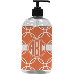 Linked Circles Plastic Soap / Lotion Dispenser (Personalized)