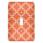 Linked Circles Light Switch Covers (Personalized)
