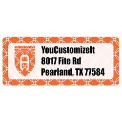 Linked Circles Return Address Labels (Personalized)