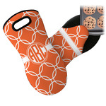 Linked Circles Neoprene Oven Mitt (Personalized)