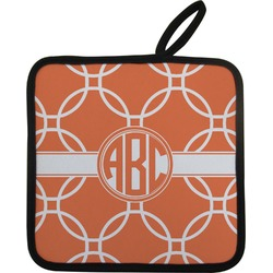 Linked Circles Pot Holder (Personalized)