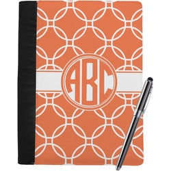 Linked Circles Notebook Padfolio (Personalized)