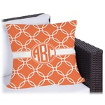 Linked Circles Outdoor Pillow (Personalized)