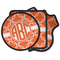 Linked Circles Iron on Patches (Personalized)