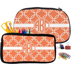 Linked Circles Pencil / School Supplies Bag (Personalized)