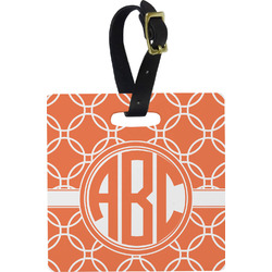 Linked Circles Luggage Tags (Personalized)