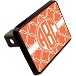 """Linked Circles Rectangular Trailer Hitch Cover - 2"""" (Personalized)"""