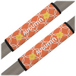 Linked Circles Seat Belt Covers (Set of 2) (Personalized)