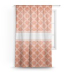 Linked Circles Sheer Curtains (Personalized)
