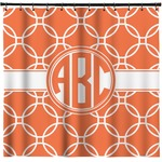Linked Circles Shower Curtain (Personalized)