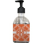 Linked Circles Soap/Lotion Dispenser (Glass) (Personalized)