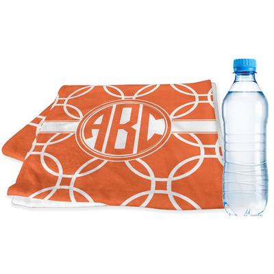 Linked Circles Sports & Fitness Towel (Personalized)