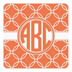 Linked Circles Square Decal (Personalized)