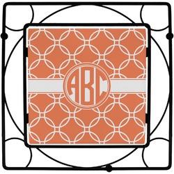 Linked Circles Square Trivet (Personalized)