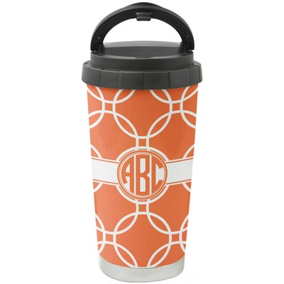 Linked Circles Stainless Steel Coffee Tumbler (Personalized)