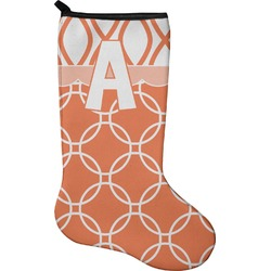 Linked Circles Christmas Stocking - Neoprene (Personalized)