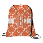 Linked Circles Drawstring Backpack (Personalized)