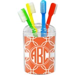 Linked Circles Toothbrush Holder (Personalized)