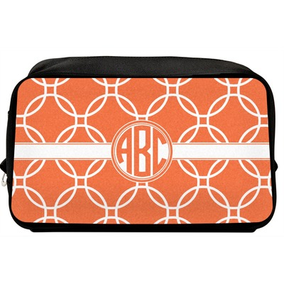 Linked Circles Toiletry Bag / Dopp Kit (Personalized)