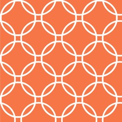 Linked Circles Wallpaper & Surface Covering