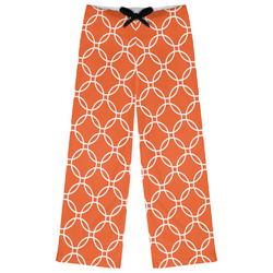 Linked Circles Womens Pajama Pants (Personalized)