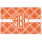 Linked Circles Woven Mat (Personalized)