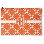 Linked Circles Zipper Pouch (Personalized)