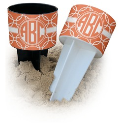 Linked Circles Beach Spiker Drink Holder (Personalized)