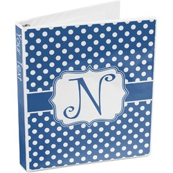 Polka Dots 3-Ring Binder (Personalized)
