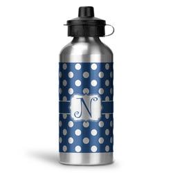 Polka Dots Water Bottle - Aluminum - 20 oz (Personalized)