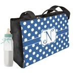 Polka Dots Diaper Bag w/ Initial