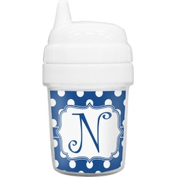 Polka Dots Baby Sippy Cup (Personalized)