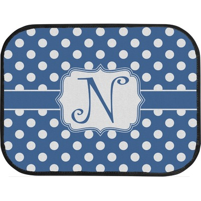 polka dots car floor mats back seat personalized youcustomizeit. Black Bedroom Furniture Sets. Home Design Ideas