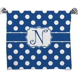 Polka Dots Full Print Bath Towel (Personalized)