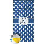 Polka Dots Beach Towel (Personalized)