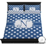Polka Dots Duvet Cover Set (Personalized)