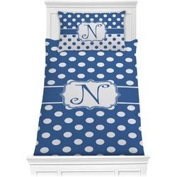 Polka Dots Comforter Set - Twin XL (Personalized)