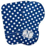 Polka Dots Burp Cloth (Personalized)