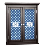Polka Dots Cabinet Decal - Custom Size (Personalized)