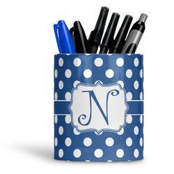 Polka Dots Ceramic Pen Holder