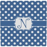 Polka Dots Ceramic Tile Hot Pad (Personalized)