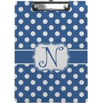 Polka Dots Clipboard (Personalized)